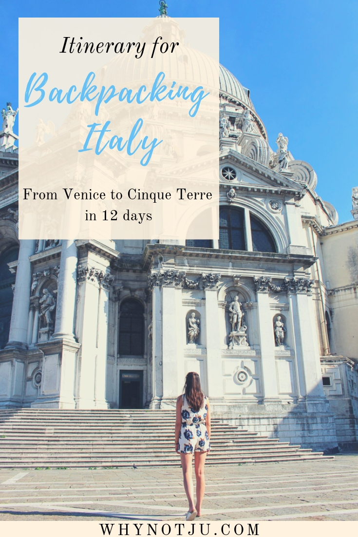 A summary of my trip backpacking through Italy. 5 Italians cities in 12 days. Hope my travel route, experience and photos inspires you!