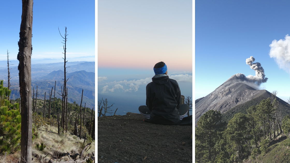 How to hike Acatenango Guatemala