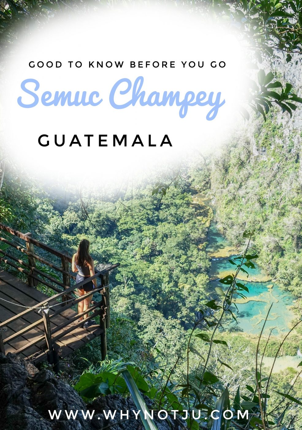 In this article you'll learn about things to do in Semuc Champey, the beautiul National Park in the Guatemalian Jungle. How to get there, what to do there, how to budget ect. #backpacking #visit #Guatemala #adventure #trip #nationalpark #centralamerica #budget #travel #guide