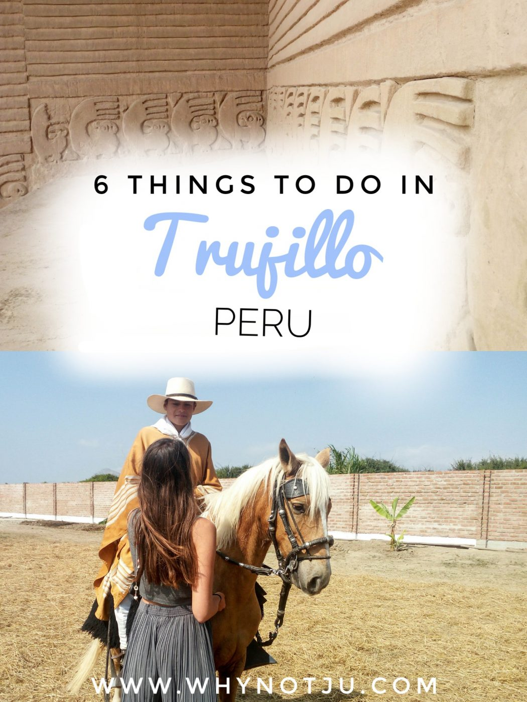 Trujillo in the north of Peru, has much to offer. Such as beach, surf and pre-inca ruins close by. Here are 6 things to do in Trujillo. #peru #southamerica #travel #guide #adventure #backpacking