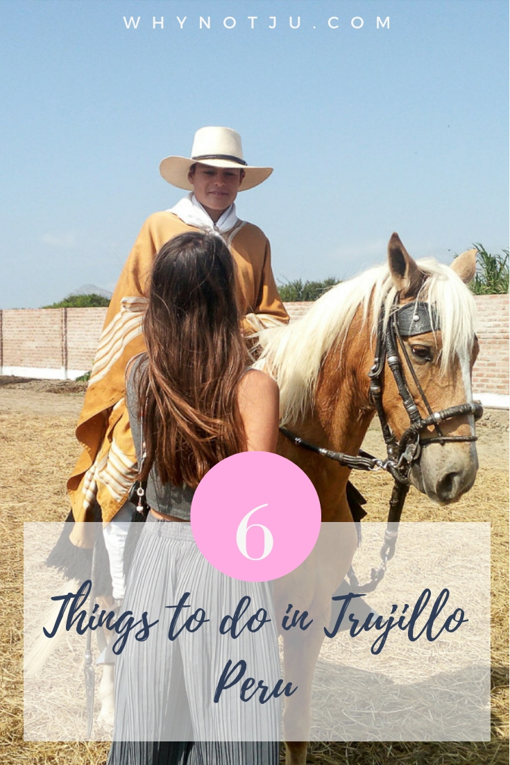 Trujillo in the north of Peru, has much to offer. Such as beach, surf and pre-inca ruins close by. Here are 6 things to do in Trujillo. #peru #southamerica #backpacking #guide #budget #travel #dventure
