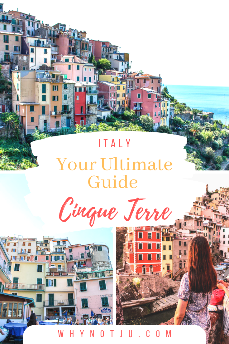 Cinque Terre along the Italien Riviera is one of the most picturesque places in Italy. This is the only guide you need to start planning your trip to the Italian five cities.