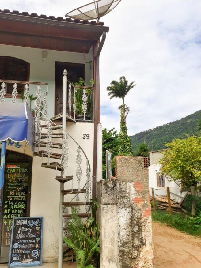 Ilha Grande streets of Abraão