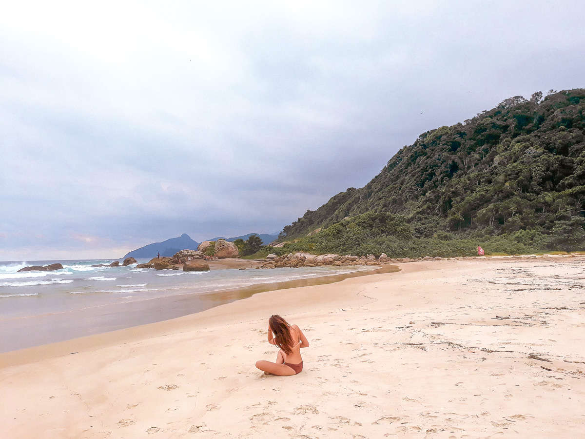 Praia Lopes Mendes Ilha Grande Brazil