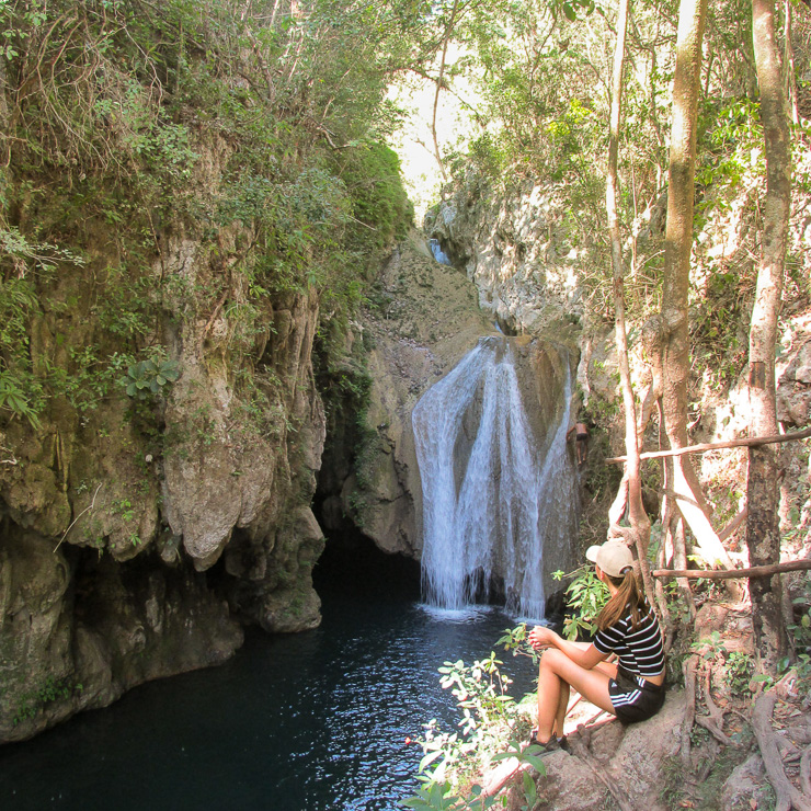 Waterfall outside Trinidad Cuba - Ulitmate travel guide to cuba