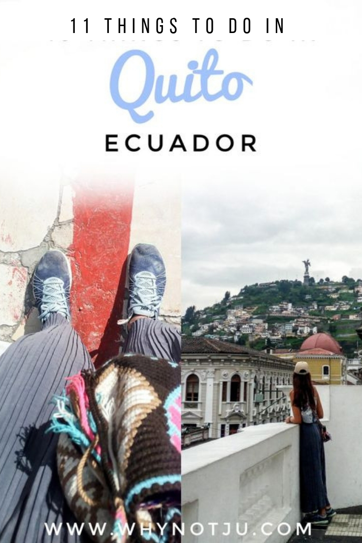 Quito, captial of ecuador and the world? 11 things to do in Quito as a backpacker, all low cost, and worth checking out if you plan a visit. #adventure #backpacking #travel #ecuador #quito #guide #southamerica