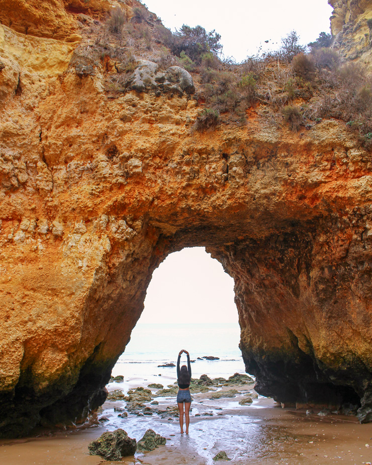 Lagos Beaches Stone Arch The Ultimate Guide to Algarve - Travel guide, backpacking suggestions, low budget travel tips and Itinerary suggestion
