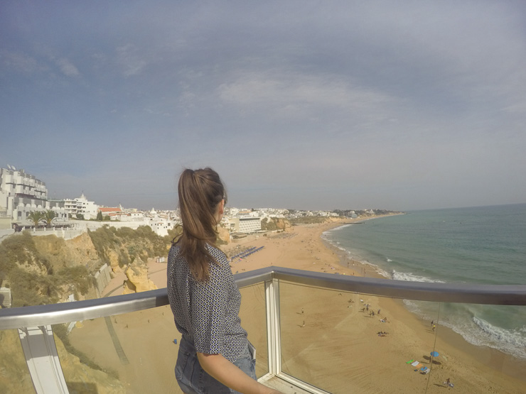 Elevador do Peneco view Albufeira The Ultimate Guide to Algarve - Travel guide, backpacking suggestions, low budget travel tips and Itinerary suggestion