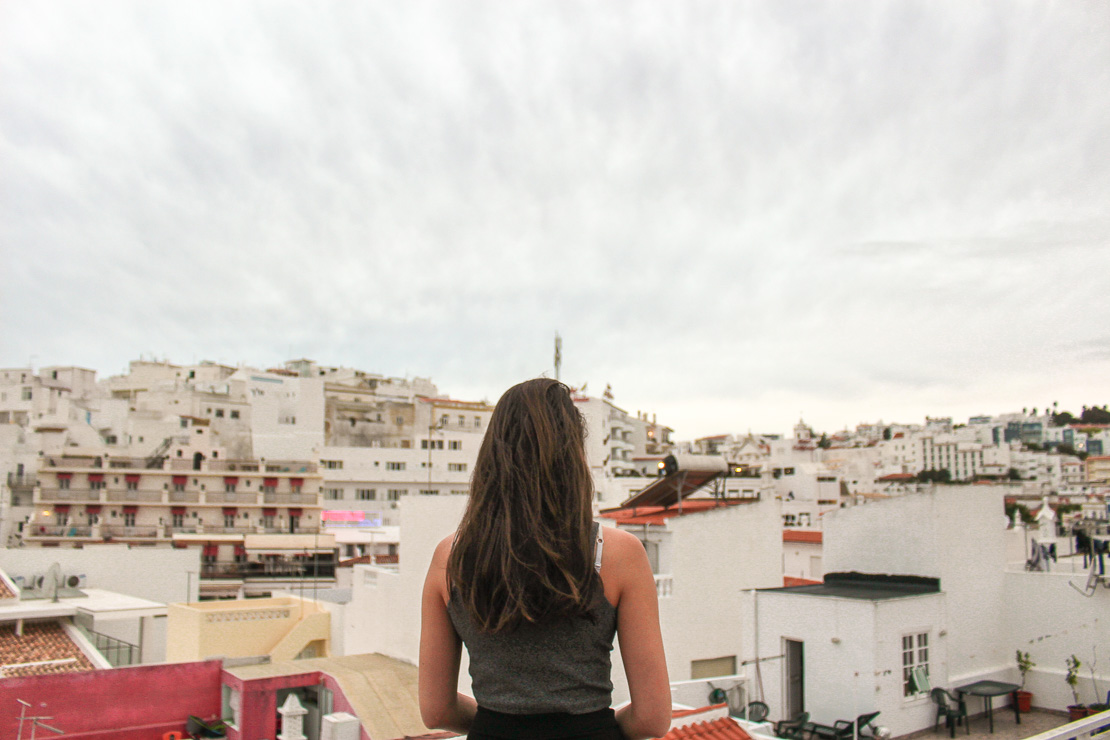 View over Albufeira Old town The Ultimate Guide to Algarve - Travel guide, backpacking suggestions, low budget travel tips and Itinerary suggestion