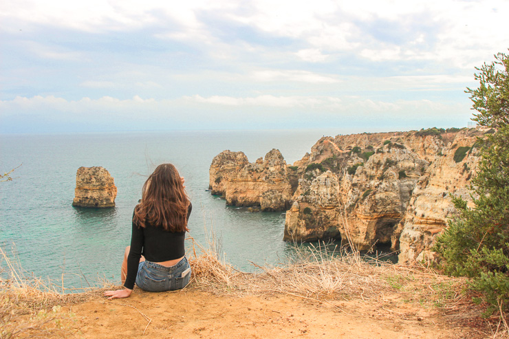 Lagos Cliffs The Ultimate Guide to Algarve - Travel guide, backpacking suggestions, low budget travel tips and Itinerary suggestion