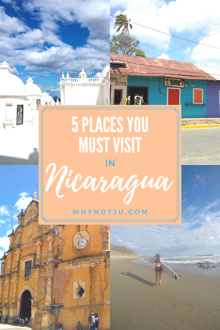 Backpacking Nicaragua is an adventure. The country offers some incredible experiences, from surf, volcano activities to beautiful architecture. Don't miss these 5 Nicaragua destinations on your next visit