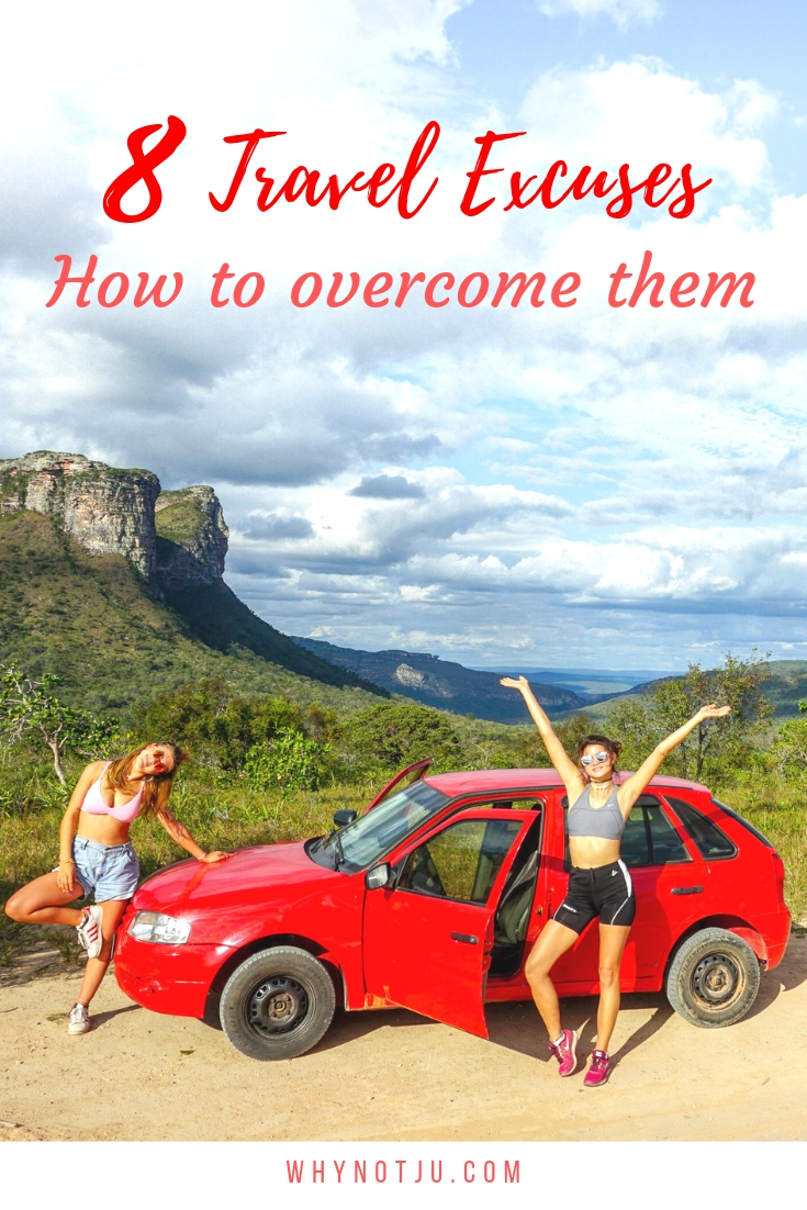 This post is all about inspiring you to book your next trip. Stop making these 8 travel excuses and learn how to overcome them. Be adventurous
