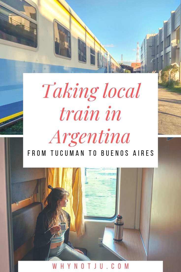 Get a break from the long hours in buses. Here is all you need to know before taking local train in Argentina, from Tucuman to Buenos Aries