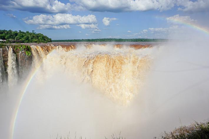 La Garganta del Diablo Iguazu Falls Rainbows