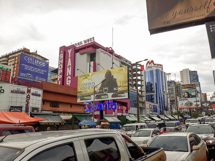 Cuidad del Este Paraguay Rush Hour Travel guide