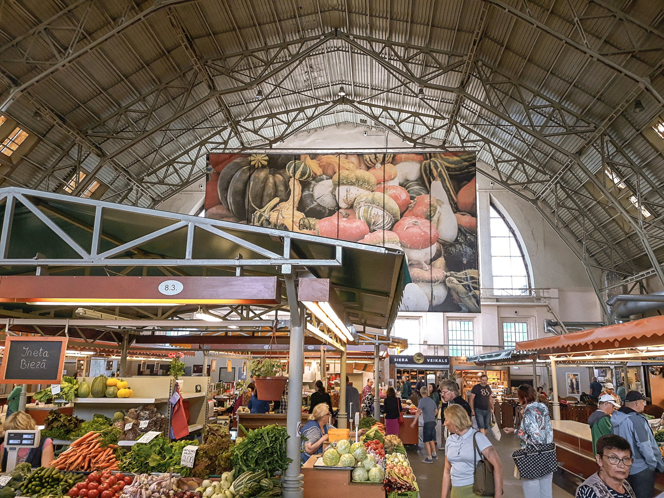 What to do in Riga visit Riga Central Market Hall