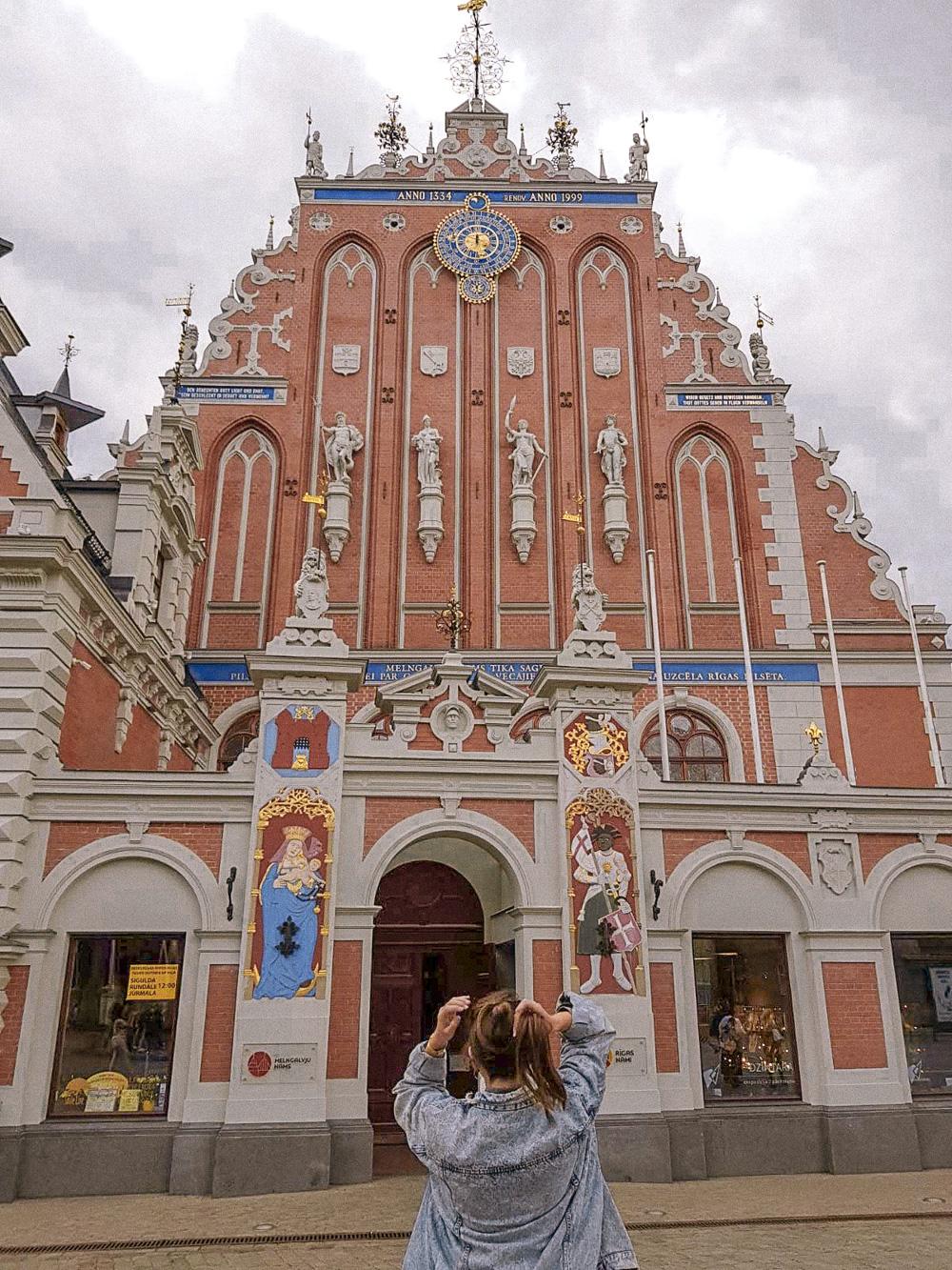 Visit The Bortherhood of the Blackheads in Riga house of the blackheads