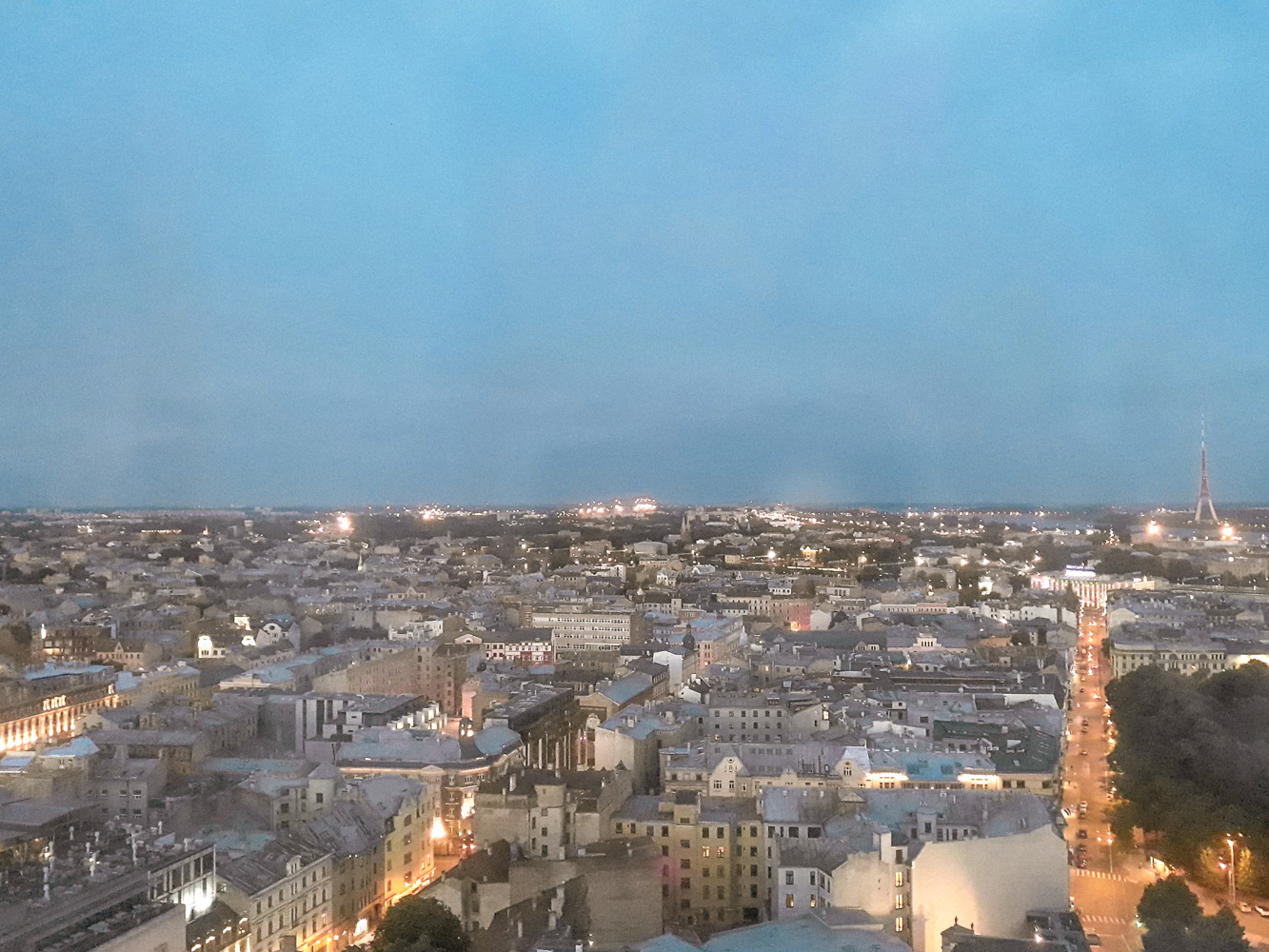 Riga attractions, seeing Riga from above
