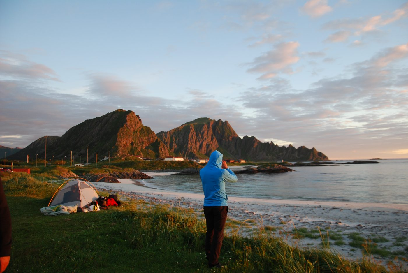 Camping Andenes Norway beach igor-francetic