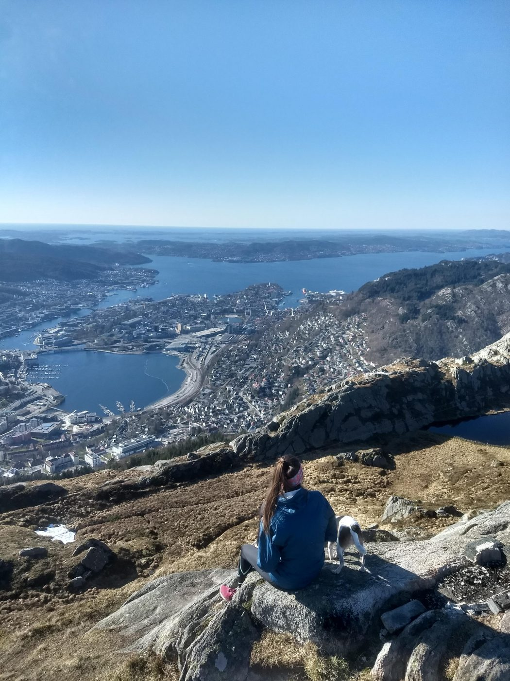 Mount Ulriken Bergen Beautiful View over the city
