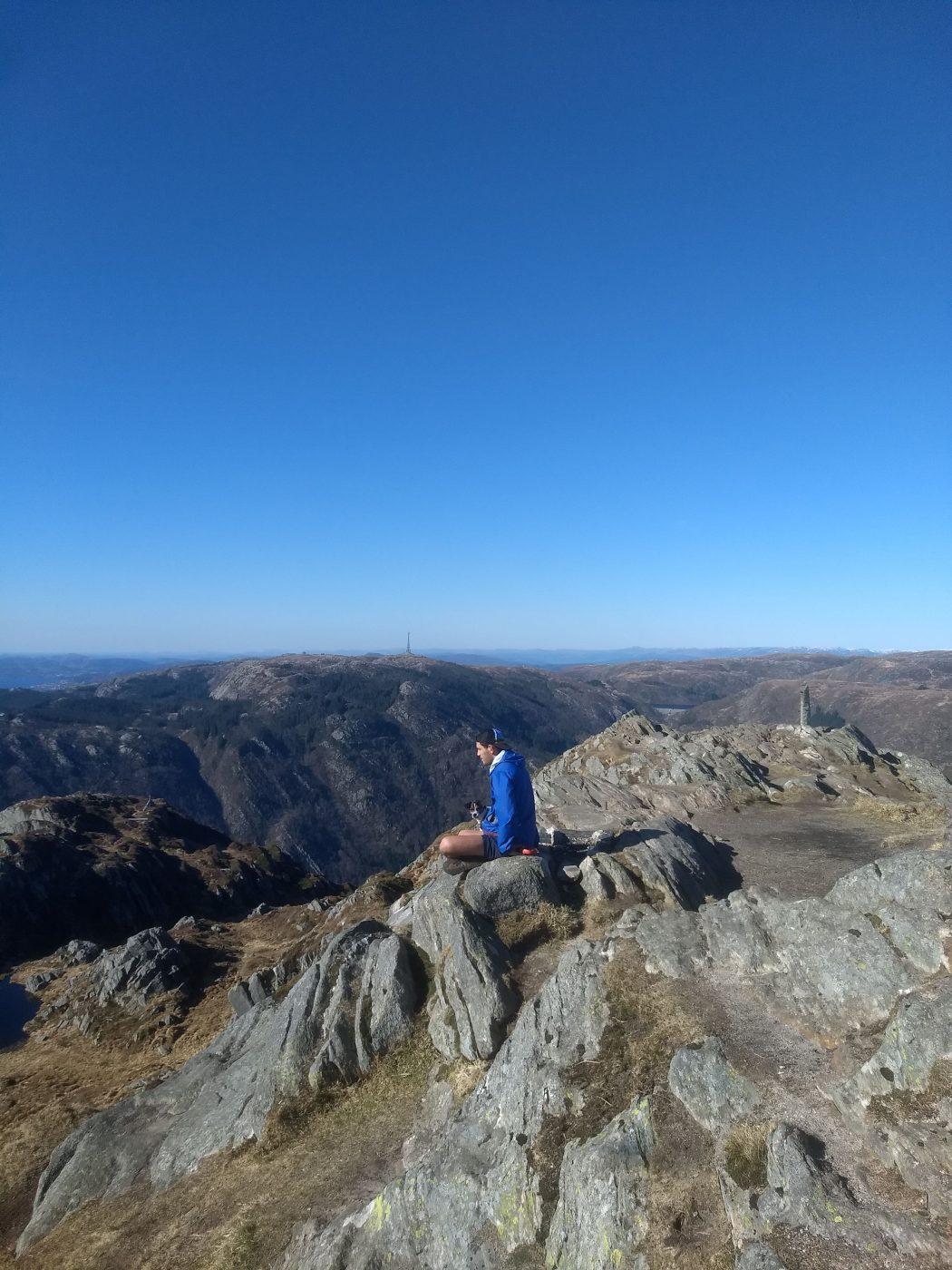 Mount Ulriken Bergen Beautiful View