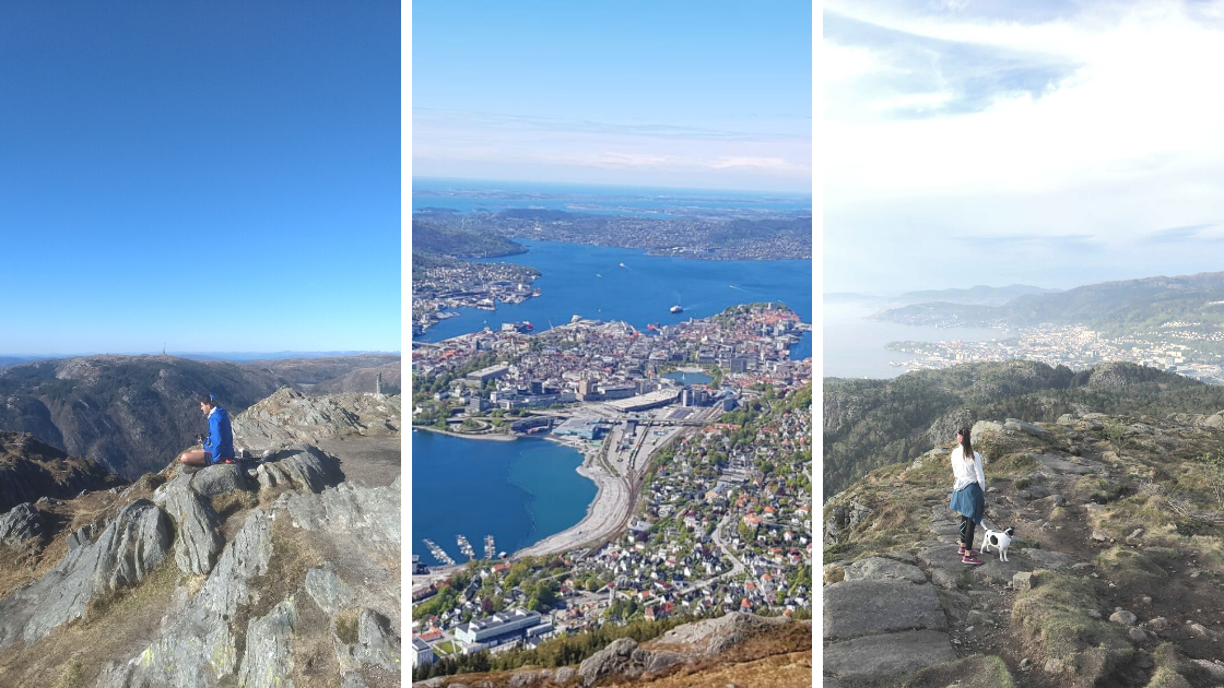 How to go hiking in Bergen Norway