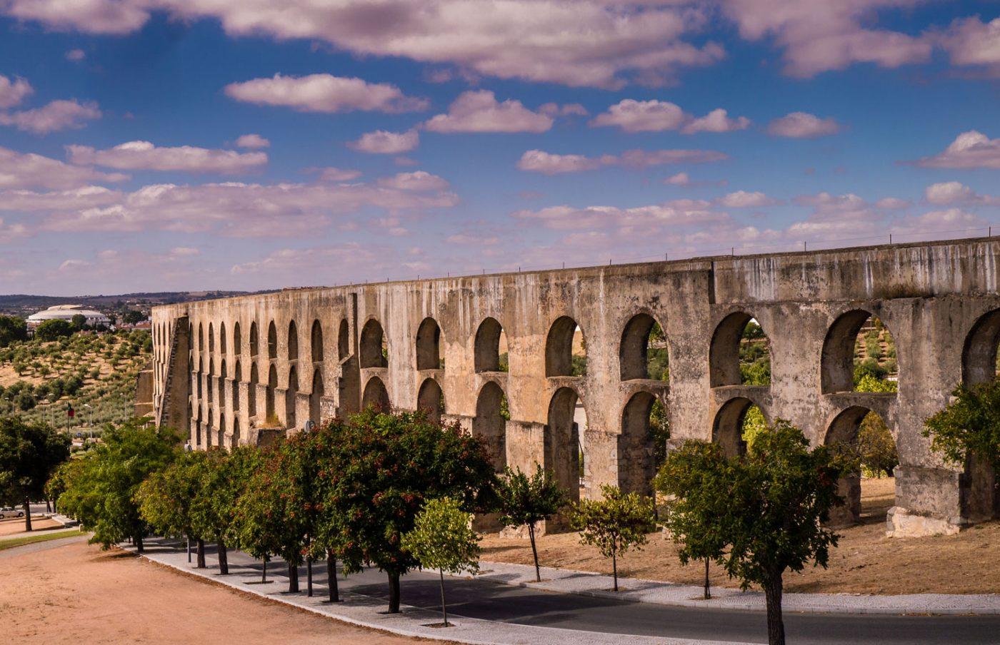 Elvas aquaduct Portugal