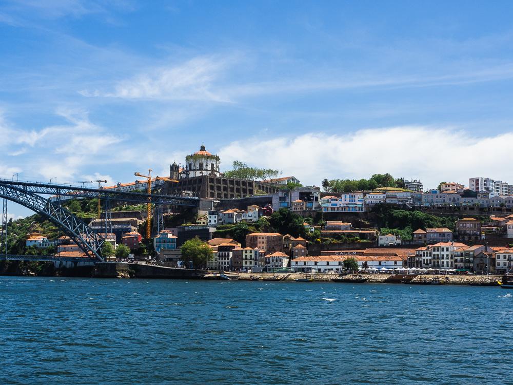 Porto Douro River Path Portugal