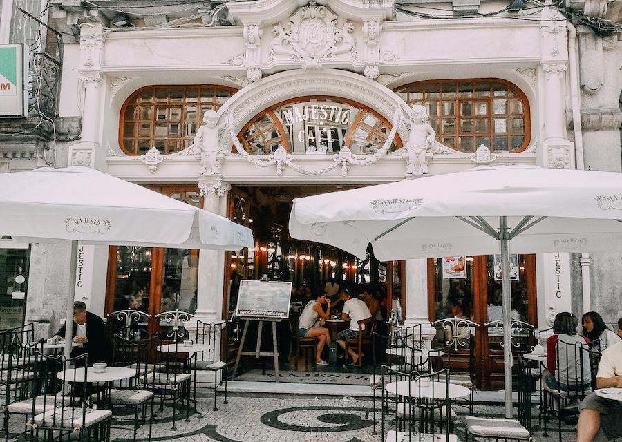 Majestic Café Porto Portugal