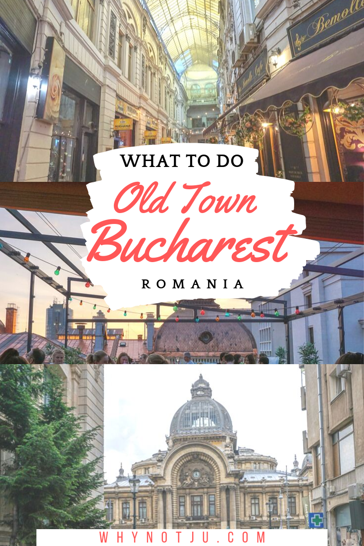 Bucharest old town offer is full history and beautiful architecture. Here is all you need to know to start exploring Bucharest old town.