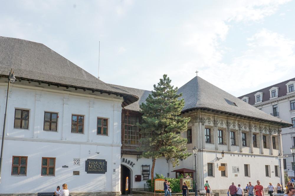 manucs inn bucharest Romania Old town