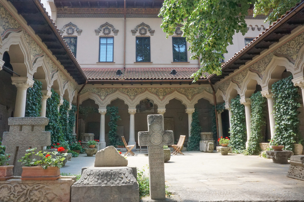 Stavropoleos Monastery Church Bucharest Romania