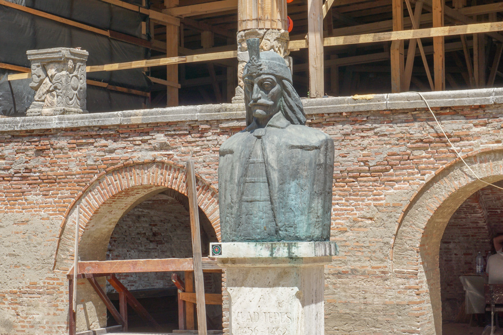 Princely Court in Bucharest Draculas house Romania Vlad the Impaler