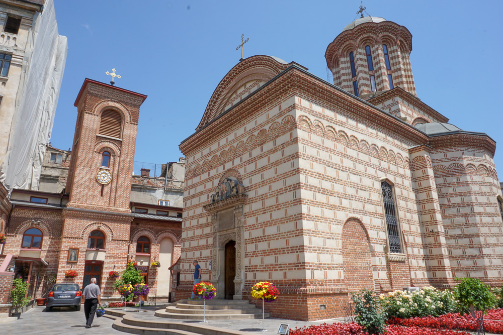 St Anthony Church Old Town Bucharest Romanoa