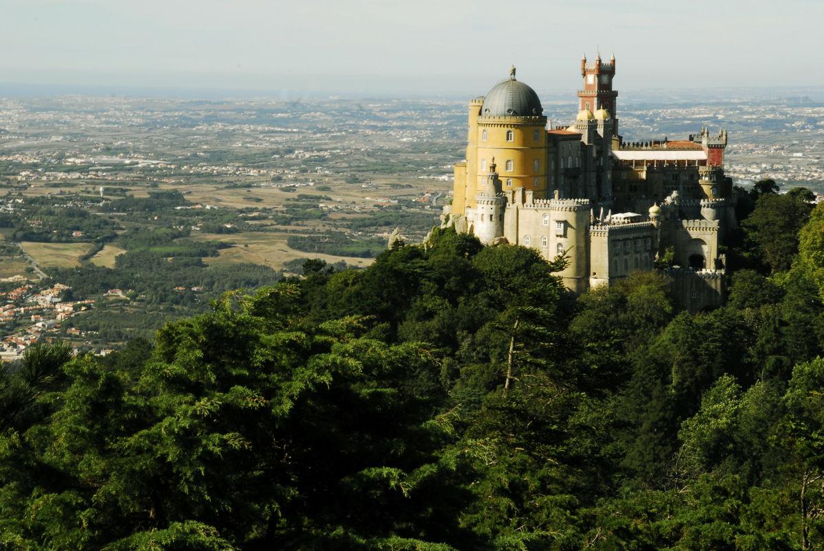 sintra castle Palace da Pena Portugal