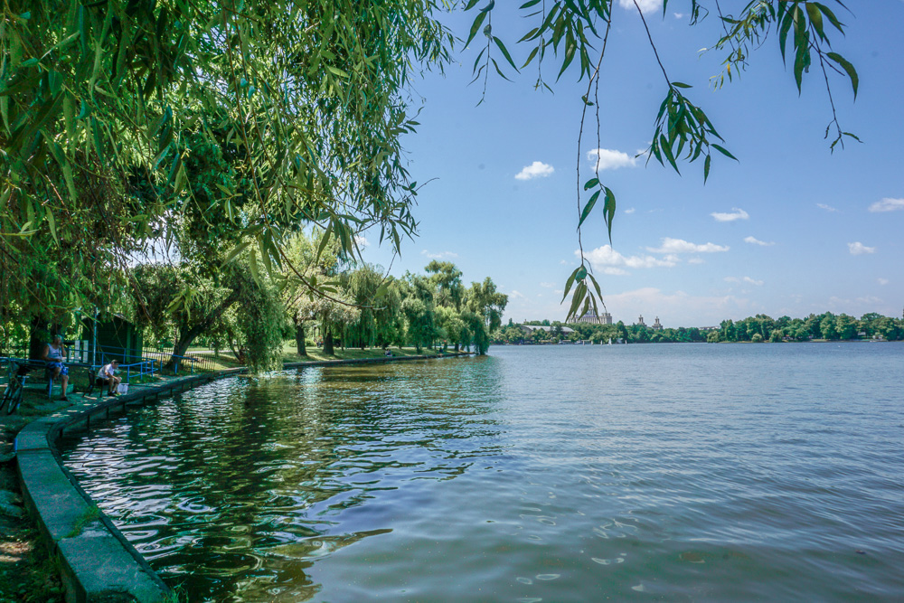 Park Herastrau Bucharest Romania Lake