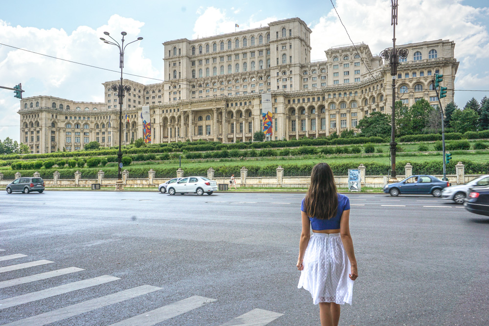 Parlament of Romania Bucharest