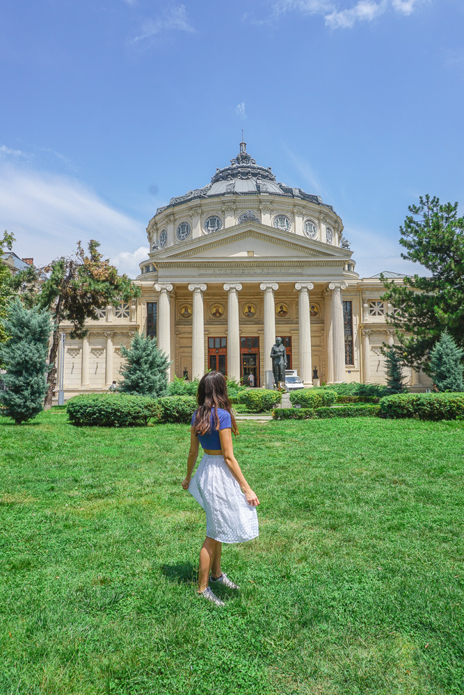 Concert hall Bucharest Athenaeum Romania