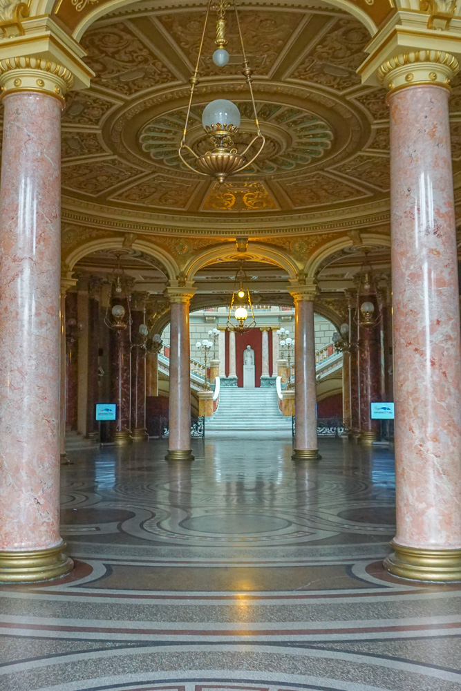 Romanian Athenaeum Bucharest concert hall