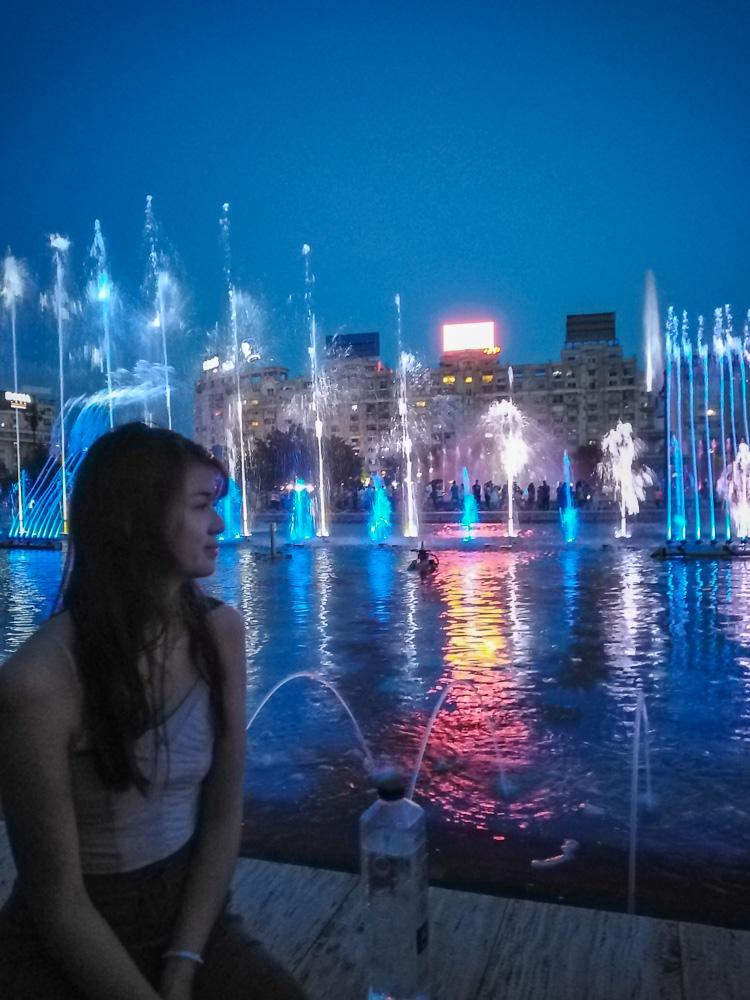 Unirii Square Fountain Show Bucharest