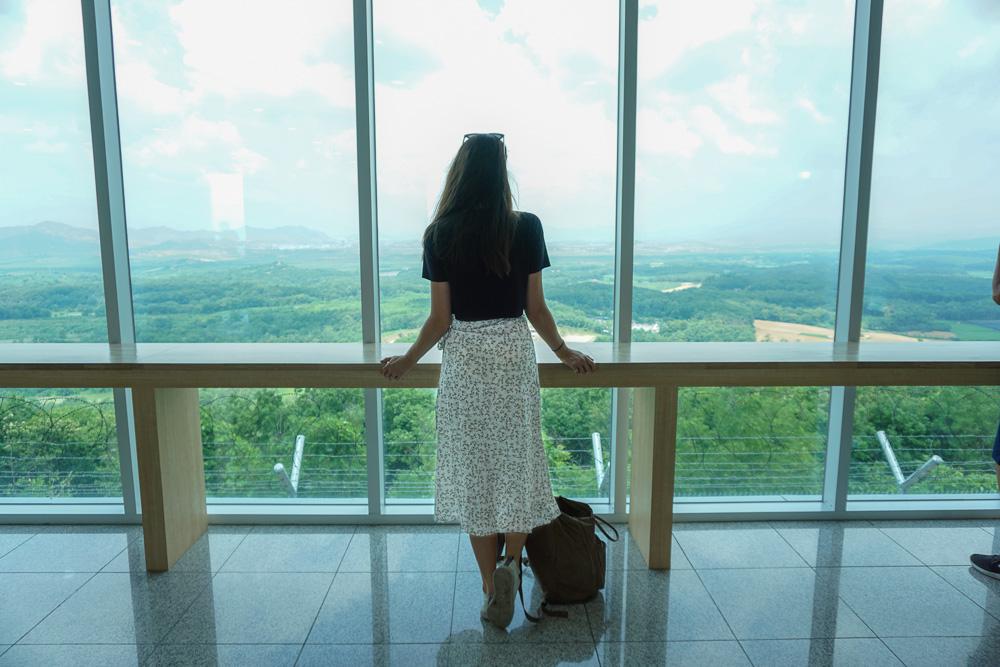 Dora Observatory North Korea view DMZ Tour