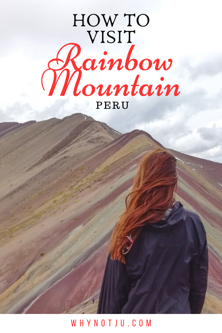 How to visit the Rainbow Mountain from Cusco, Peru. An incredible site in Peru that is easier than you think to visit. All you need to know to get the best experience hiking the rainbow mountain!