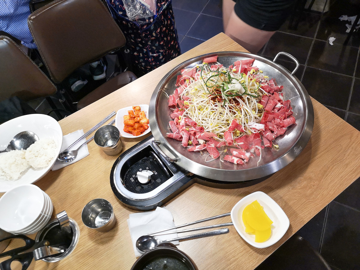 Eating out in Hongdae