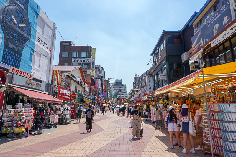 Hongdae Shopping street Travel guide Seoul South Korea
