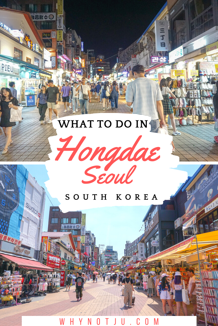 All about things to do in Hongdae. Seoul's artsy and trendy neighborhood. From singing your lungs out and partying the night away, to eating delicious food and  shop til you drop. Hongdae has it all.