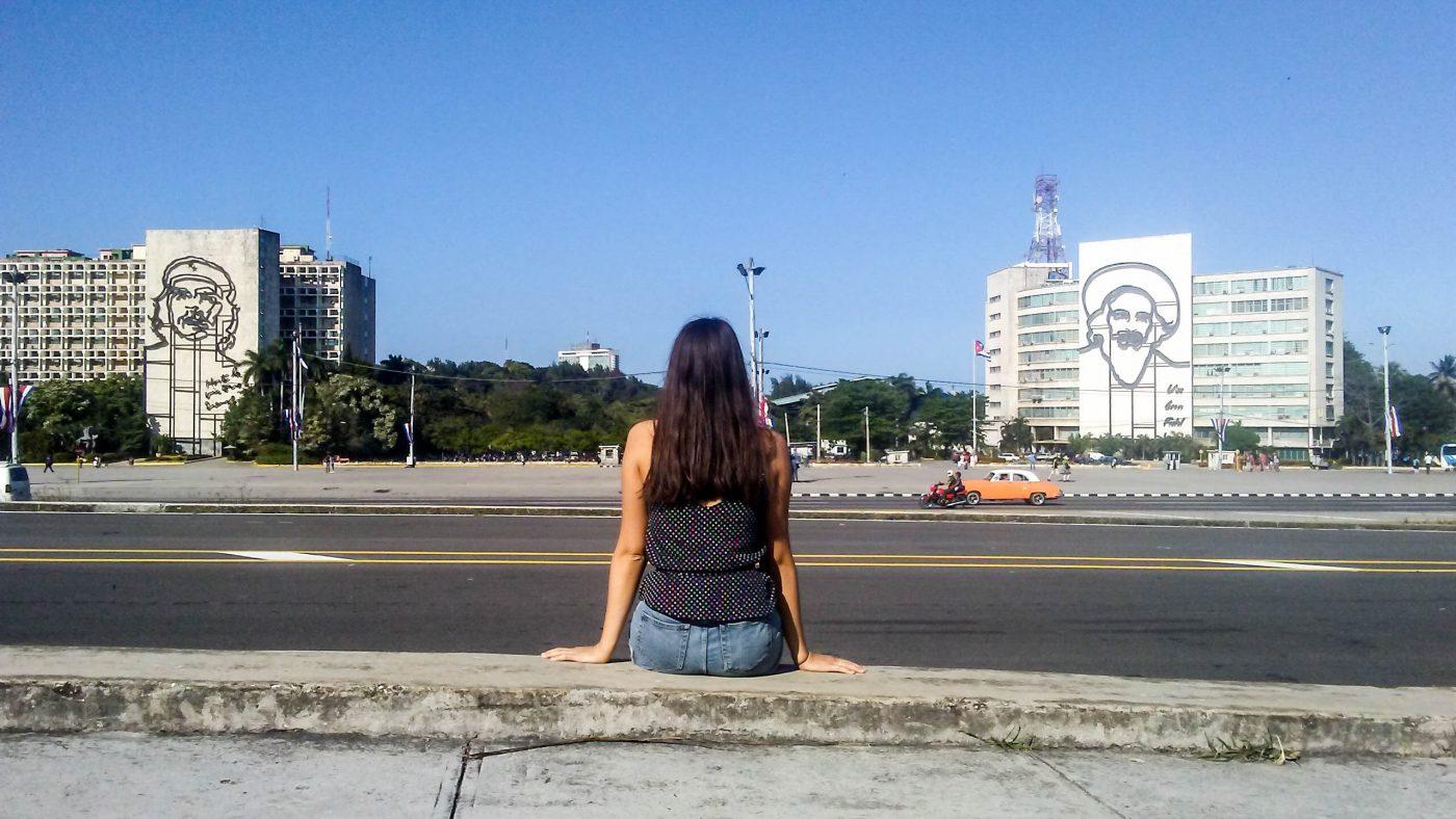 Plaza de la revolucion Havana Cuba