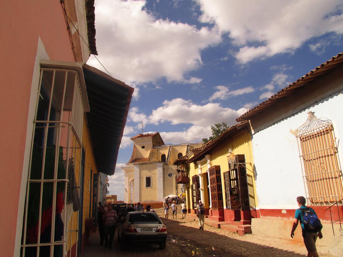 Cuba Street of Trinidad