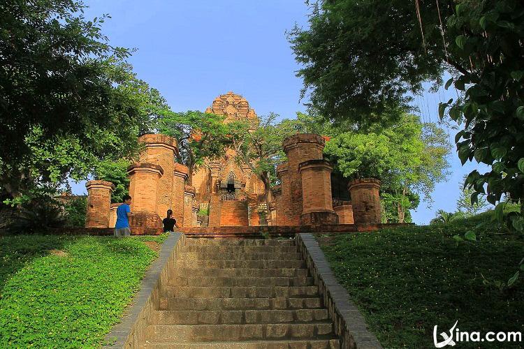 Po Nagar Cham in Nha Trang in Vietnam