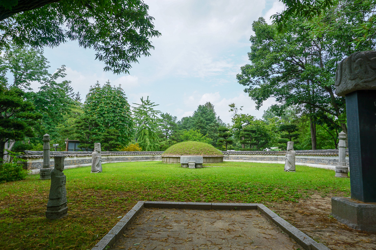 General Nami Tomb Nami Island South Korea