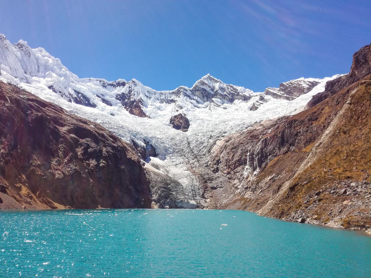 Arhuaycocha Lake Trek Santa Cruz Peru